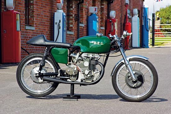 REG 250: The First Multi-cylinder 250cc Motorcycle - Classic British Motorcycles - Motorcycle Classics