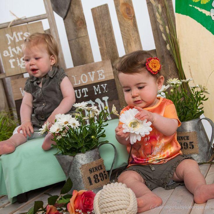Dirkje babykleding Jurk Tropical Star - Dirkje babykleding