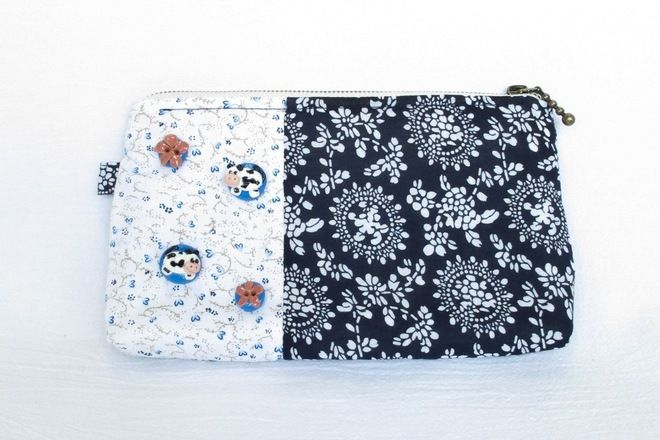 Handmade Patchwork Pouch - S$24.80