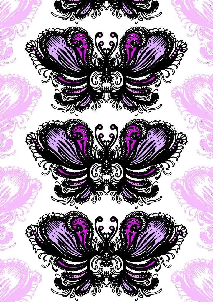 Vallila Interior Tulisielu black pink