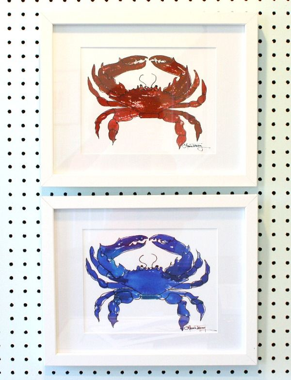 25 best ideas about crab decor on pinterest crab for What kind of paint to use on kitchen cabinets for how to make bottle cap wall art