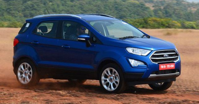 Ford India Will Be Rolling Out The Latest Ecosport With New Features And Standard Safety Autox Ford Ecosport Ford Bike News
