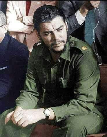 """""""Sólo existe un sentimiento mayor que el amor hacia la libertad, que es el odio a quien te la quita."""" Che"""