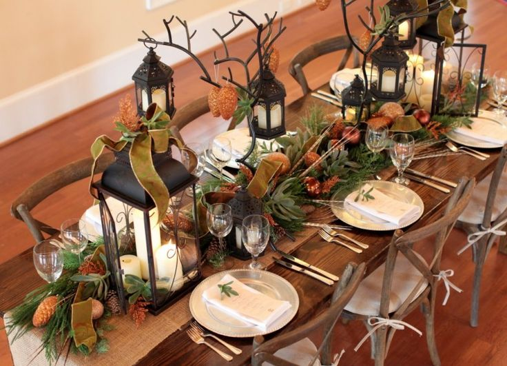 Pics Of Unconventional Tablescapes