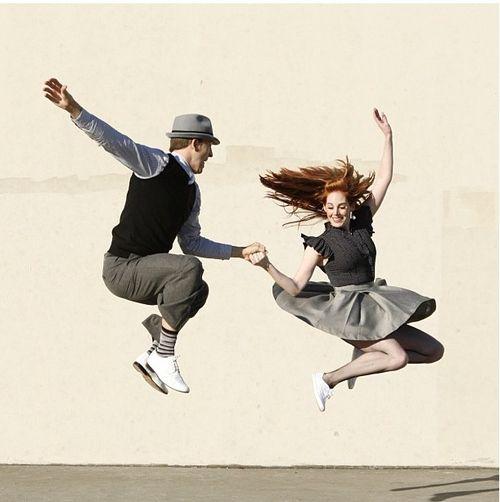I wanna learn so bad!!  Swing dancing looks like sooo much fun!