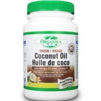 ULEI DE COCOS cu OMEGA-3 60 capsule gelatinoase