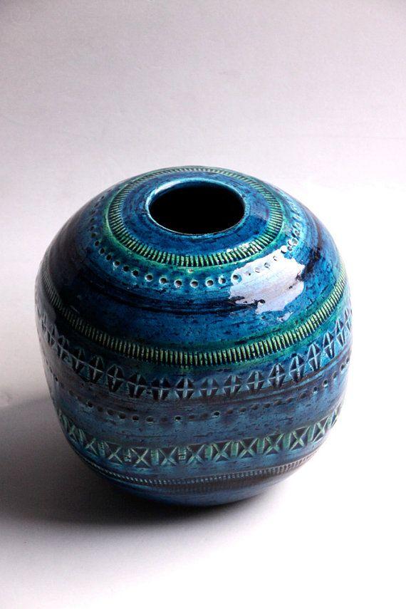 vintage bitossi vase