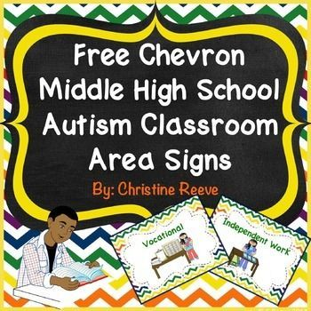 womens clothes online Free Chevron Middle High School Autism Classroom Area Sign