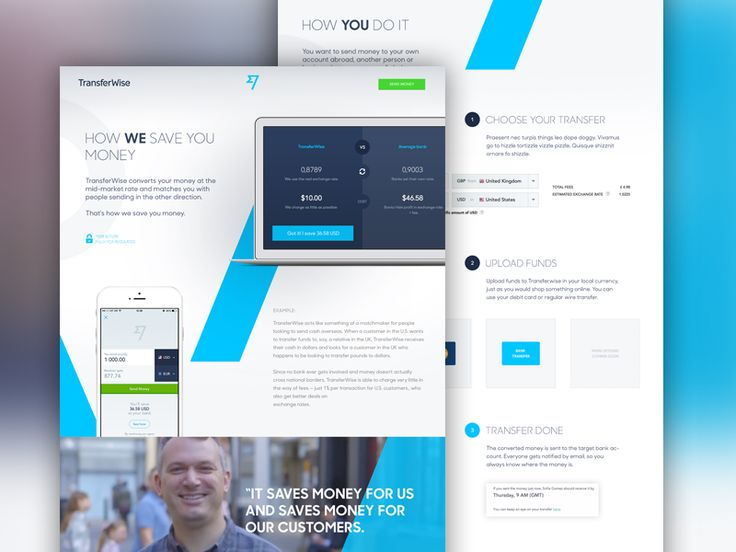 TransferWise - How It Works by Marko Prljic
