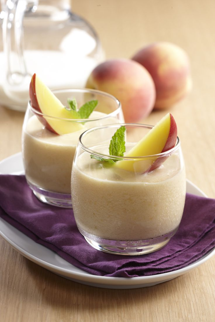 Peaches & Cream Smoothie