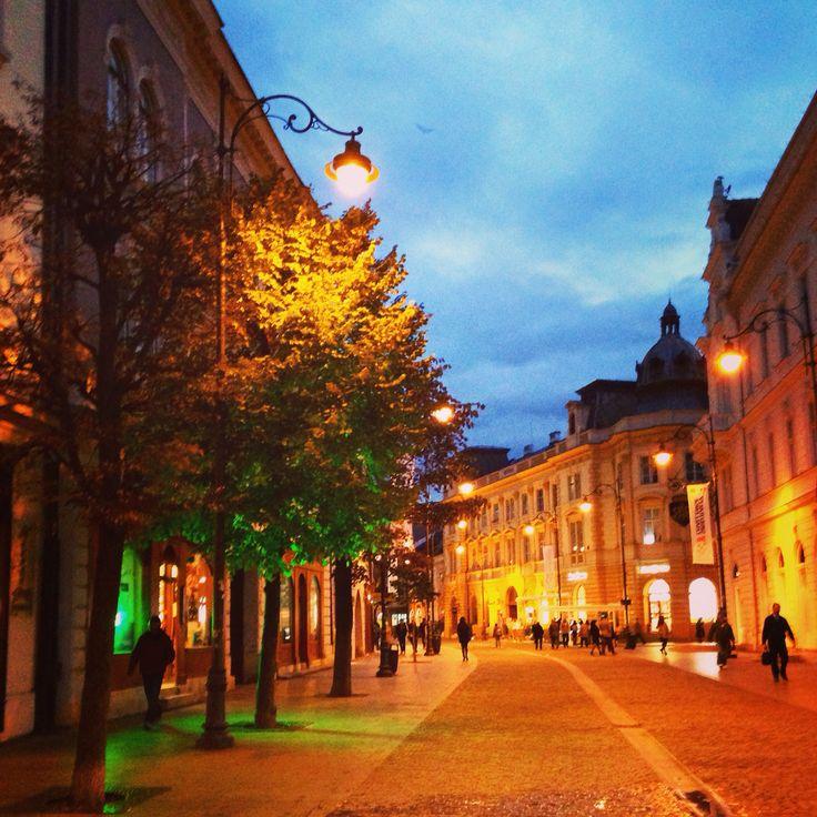 Sibiu by night! :) #amazingcity