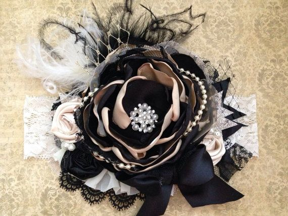 New Years Kiss headband by ChloeRoseCouture on Etsy