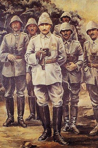 Ataturk Anafartalarda. Sami Yetik