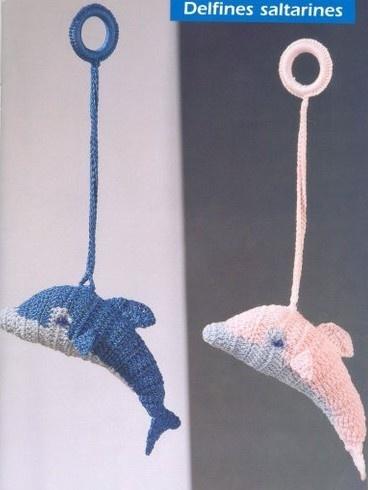 delfino amigurumi con schema