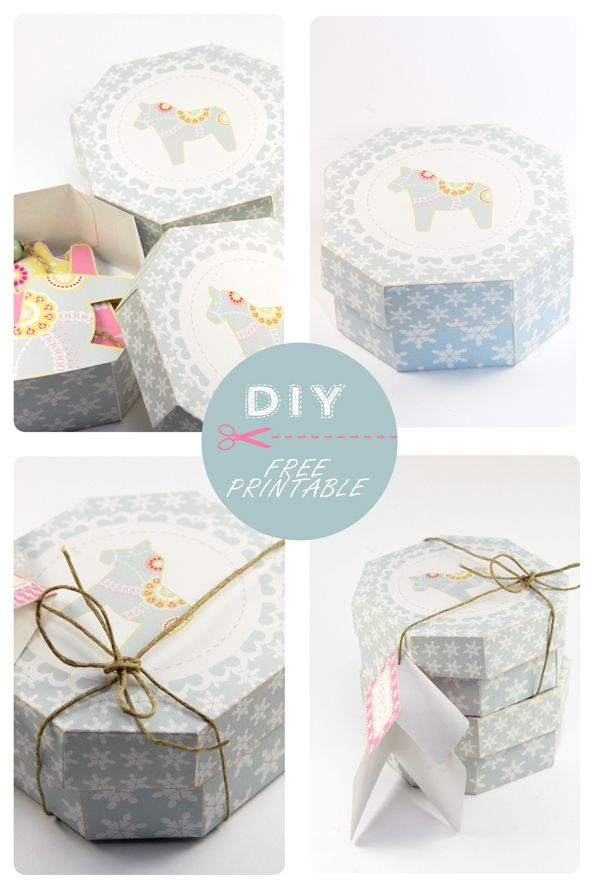 116 best Gift Box Templates images on Pinterest Gift boxes - homemade gift boxes templates