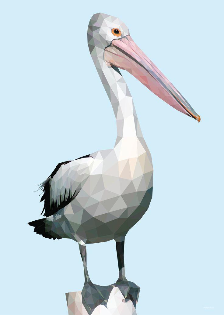 Low Poly Pelican