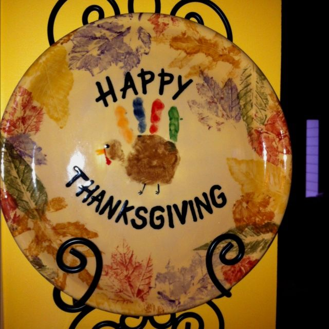 handprint turkey craft handprint plate search baby crafts 2154
