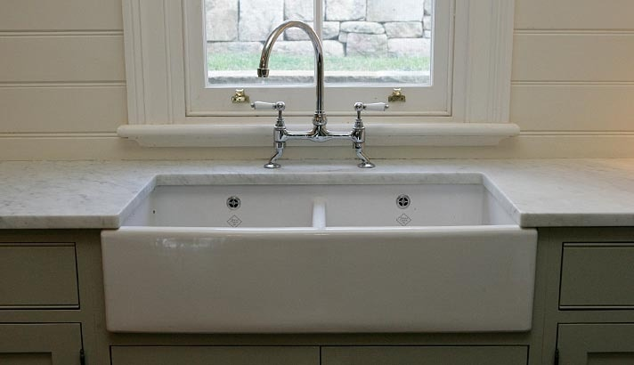 Double Butler's sink