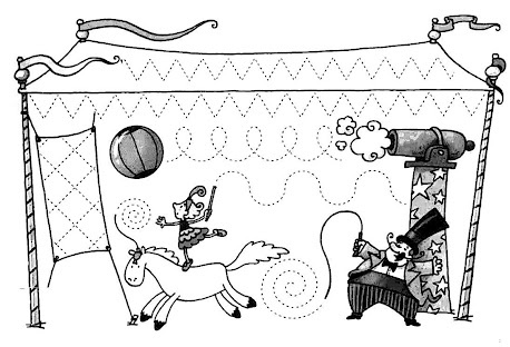 schrijfpatronen circus