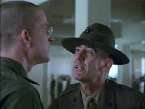 discorso iniziale del sergente Hartman - YouTube