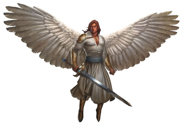 Angel Solar From The D Amp D Fifth Edition Monster Manual