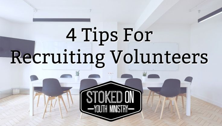 Building a team can be difficult, especially if you are in a church where almost all your options for youth volunteers are over the age of 70. I have been in churches like that and I know how diffi…