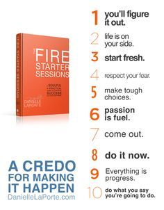 Don't know what your true career passion is yet? Check out: Danielle LaPorte The Firestarter Sessions