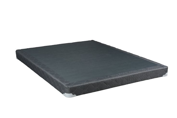Continental Sleep Fully Assembled 5-Inch Full Size Box Spring For Mattress, Beautiful Rest Collection