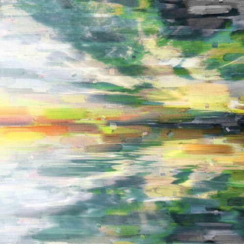 Parvez Taj Colour Explosion Canvas Wall Art