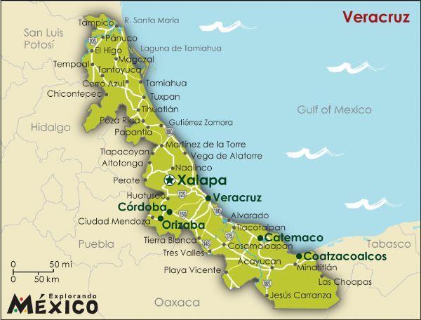 Fotos Del Puerto De Veracruz | Mapa de Veracruz Político Región | Mapa Político Ciudad Región ...