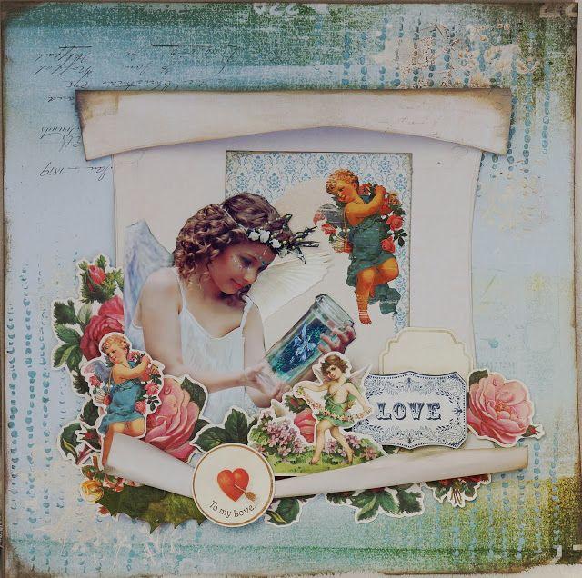 Kaisercraft - Key to My Heart - Geraldine Pasinati