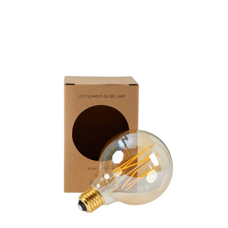 Sissy-Boy LED-Lampe Kugel Gold S