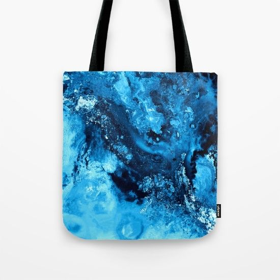 Buy Cool Ice Tote Bag by Jazzyinked at Society6