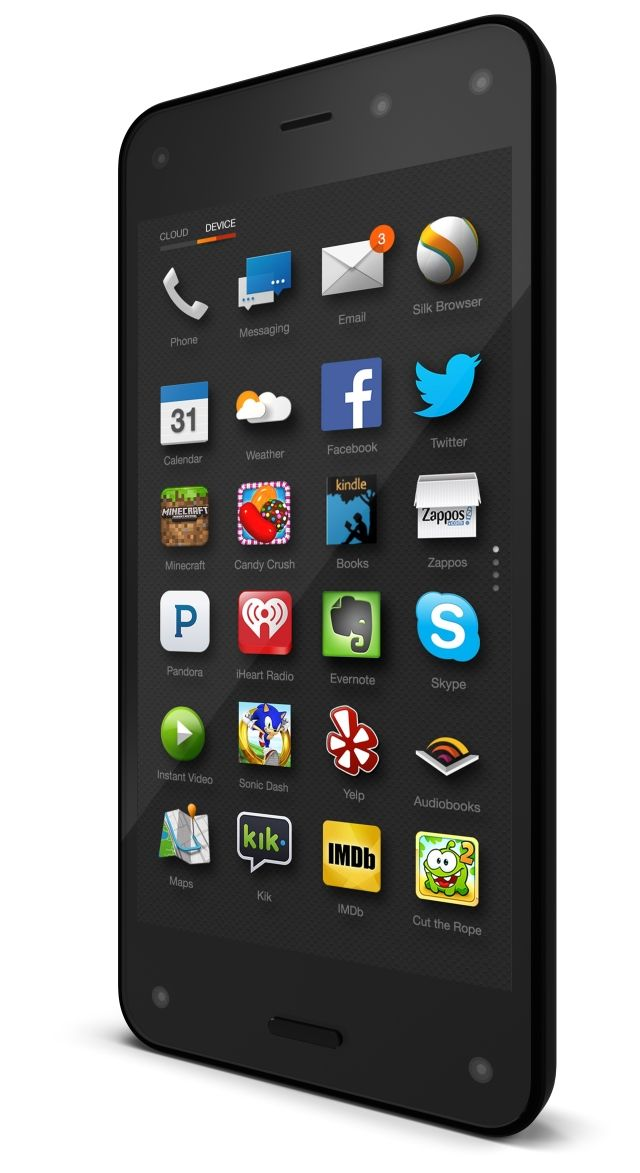 Amazon Unveils Fire, A Smartphone Featuring the Ability to Scan and Identify 70 Million Products