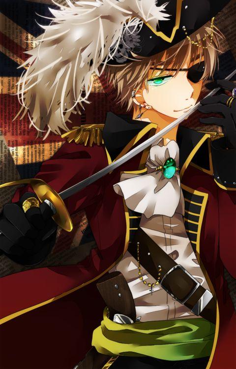 Hetalia England, Pirate England.....yes please!