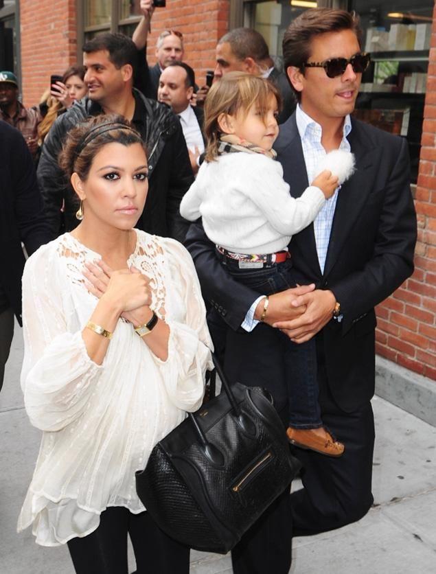 Kourtney Kardashian, Scott Disick and Mason Disick make a happy family — but is it a biological one?