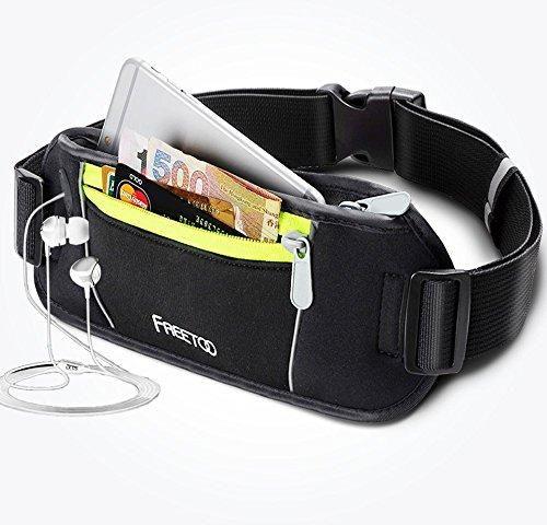 Oferta: 19.99€. Comprar Ofertas de [cinta] FREETOO riñonera atletas corredores cangurera, riñonera, bolsillos, cinturón de dinero para viajar para iPhone 6 plus barato. ¡Mira las ofertas!