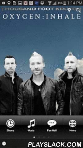 Thousand Foot Krutch  Android App - playslack.com , Official app for the rock band, Thousand Foot Krutch from Toronto, Canada