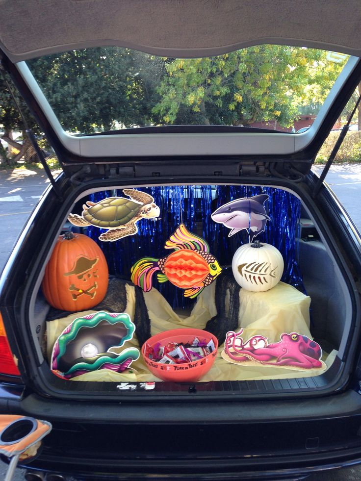 17 Best Images About ♛ Halloween Trunk Or Treat On