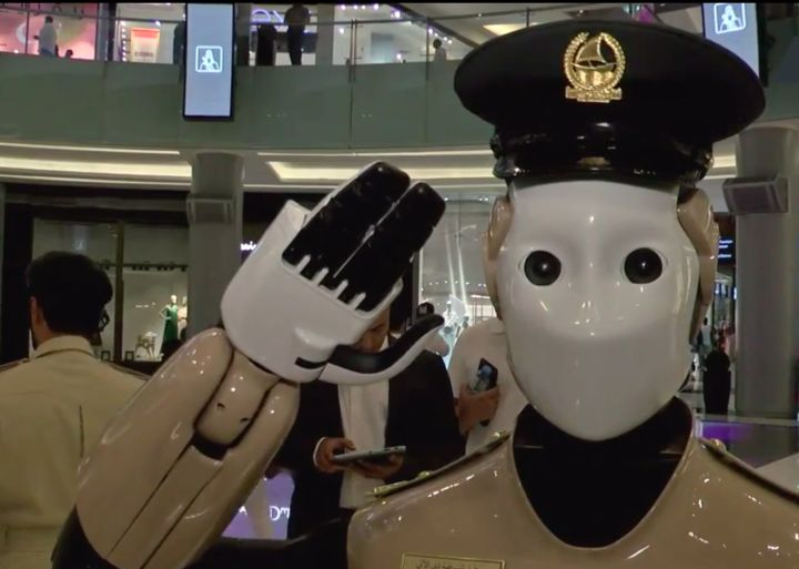 This Real-Life RoboCop Is On The Case At A Dubai Shopping Mall  The city wants 25 percent of its police force to be robots by 2030.