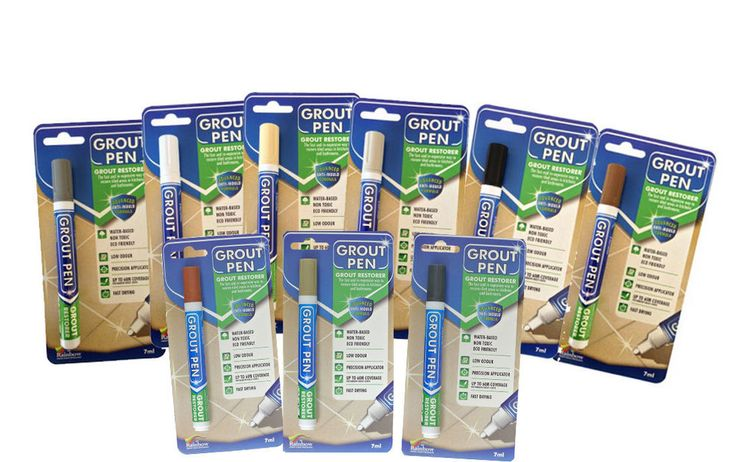 GROUT PEN Revives & Restores old grout.  ANTI-MOULD   Now available in 9 colours in Home, Furniture & DIY, DIY Materials, Other DIY Materials | eBay!