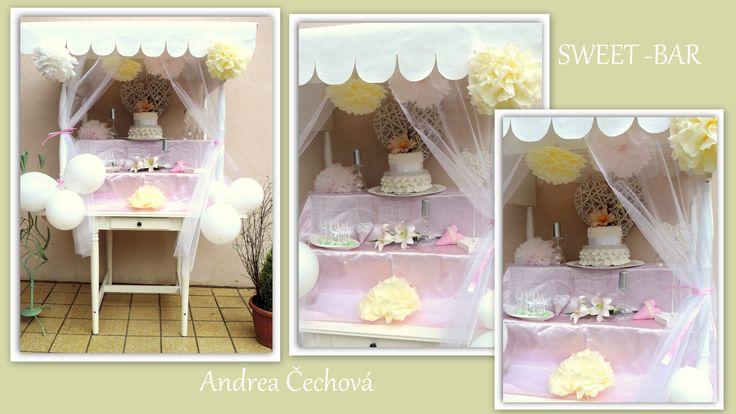 wedding sweet bar, candy bar, svatební sladký bar