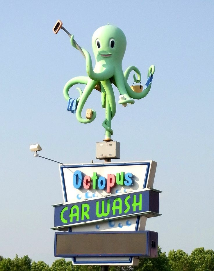 The Groovy Archives in 2020 Car wash, Car wash sign