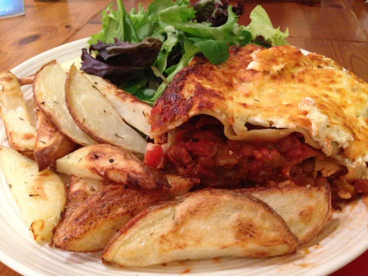 Veggie goats cheese and lentil lasagne, slimming world ...