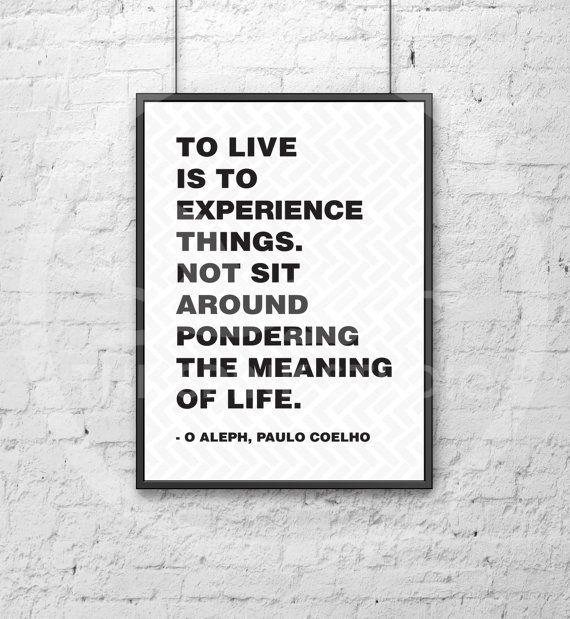 O Aleph Paulo Coelho by TheSPINKStudio on Etsy