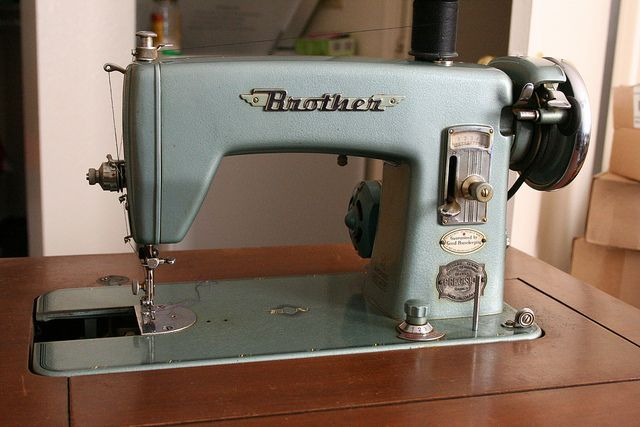 Brother Sewing Machine by aglanceatmyworld, via Flickr