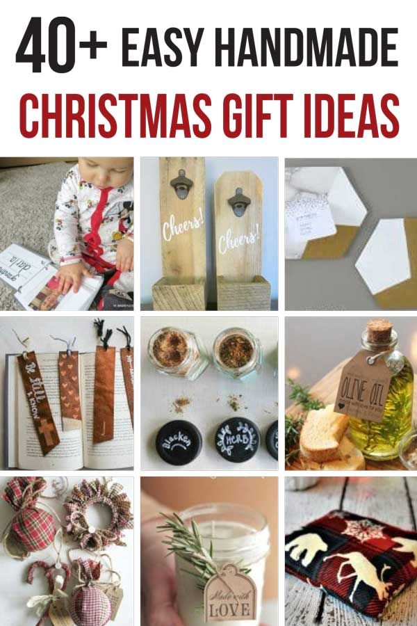 45 Cheap Gift Ideas You Can Make For Less Than 10 Easy Handmade Gifts Handmade Christmas Gifts Diy Christmas Gifts For Men