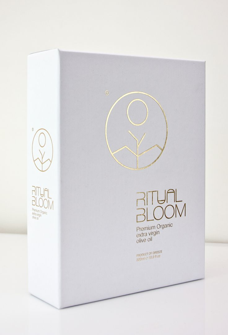 Ritual Bloom Premium Extra Virgin Olive Oil on Packaging of the World - Creative Package Design Gallery