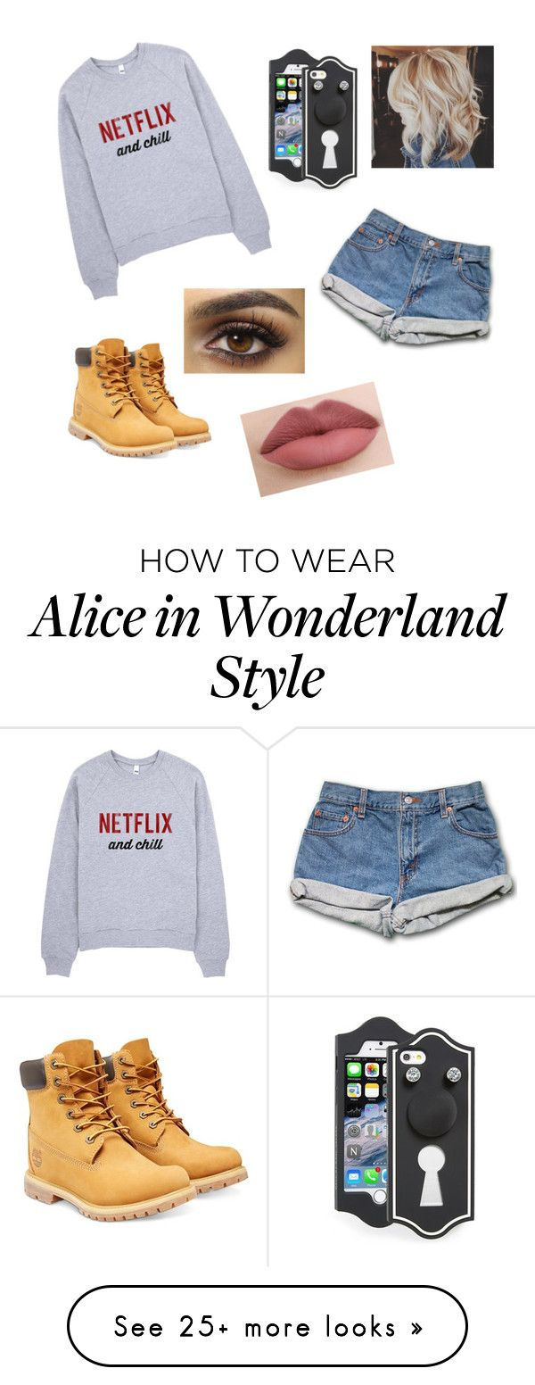 """""""Untitled #178"""" by skittles1324 on Polyvore featuring Timberland and Marc by Marc Jacobs"""
