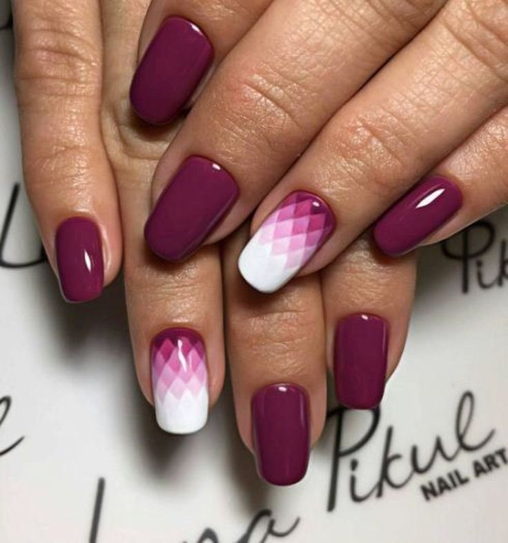 Geometrische Nail Art Design Ideen Trends 2019 #20182019 #zoyaparis #elegantnail…